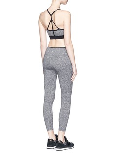KORAL 'Mystic Capri' convertible waistband cropped leggings