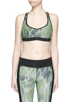 Main View - Click To Enlarge - Koral - 'Verge Versatility' crisscross back sports bra