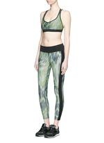'Dynamic Duo' snake print cropped leggings