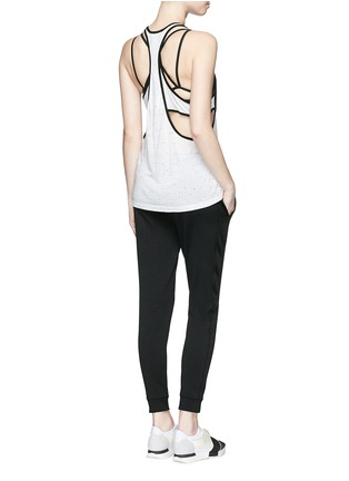 Figure View - Click To Enlarge - Koral - 'Vortex' double layer racerback sleeveless tank top