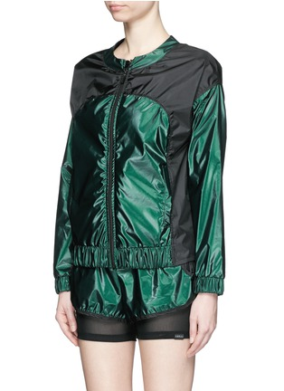 KORAL-'Tempo' reflective zip up jacket