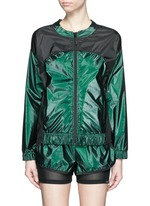 'Tempo' reflective zip up jacket
