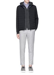 THEORY'Collet' down puffer jacket