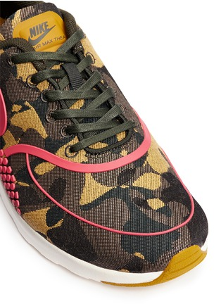 Detail View - Click To Enlarge - Nike - 'Air Max Thea Premium Jacquard' camouflage sneakers