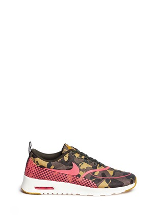 Main View - Click To Enlarge - Nike - 'Air Max Thea Premium Jacquard' camouflage sneakers