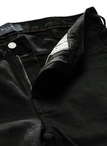 Stretch cotton slim fit jeans