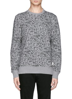 PAUL SMITH JEANS Forest animal print sweatshirt