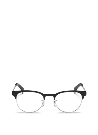 Main View - Click To Enlarge - Ray-Ban - Contrast brow bar metal optical glasses