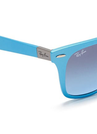 Detail View - Click To Enlarge - Ray-Ban - 'Wayfarer Liteforce' matte thermoplastic sunglasses