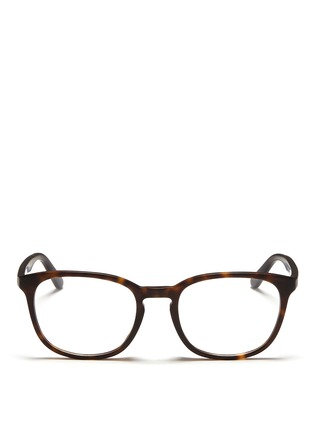 Main View - Click To Enlarge - Ray-Ban - Matte tortoiseshell acetate optical glasses