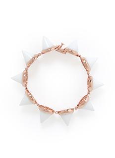 EDDIE BORGOWhite agate cone bracelet