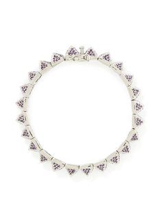 EDDIE BORGOSmall crystal pavé pyramid bracelet