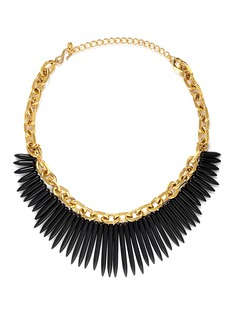 KENNETH JAY LANE Spike chain necklace