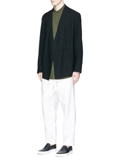 FFIXXED STUDIOSWool twill kimono jacket