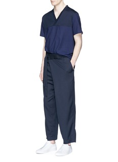 FFIXXED STUDIOSFold front belted pants