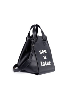 Loewe 'Hammock See U Later' calfskin leather bag