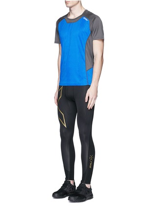 Figure View - Click To Enlarge - 2Xu - 'Elite MCS' performance compression tights