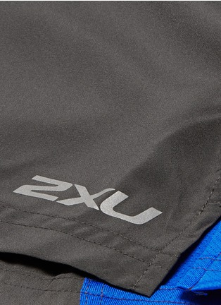 Detail View - Click To Enlarge - 2Xu - 'Momentum 2 in 1 Ice X' shorts