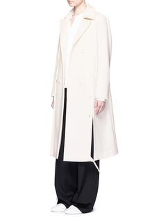 Ports 1961Split front gabardine coat