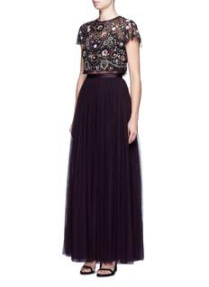 Needle & ThreadTulle maxi skirt