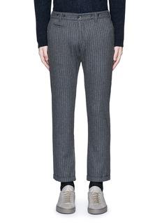 Barena'Rampin' pinstripe cropped wool pants