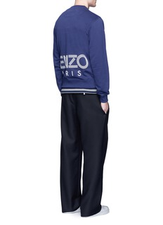 KENZOLogo print skate sweatshirt