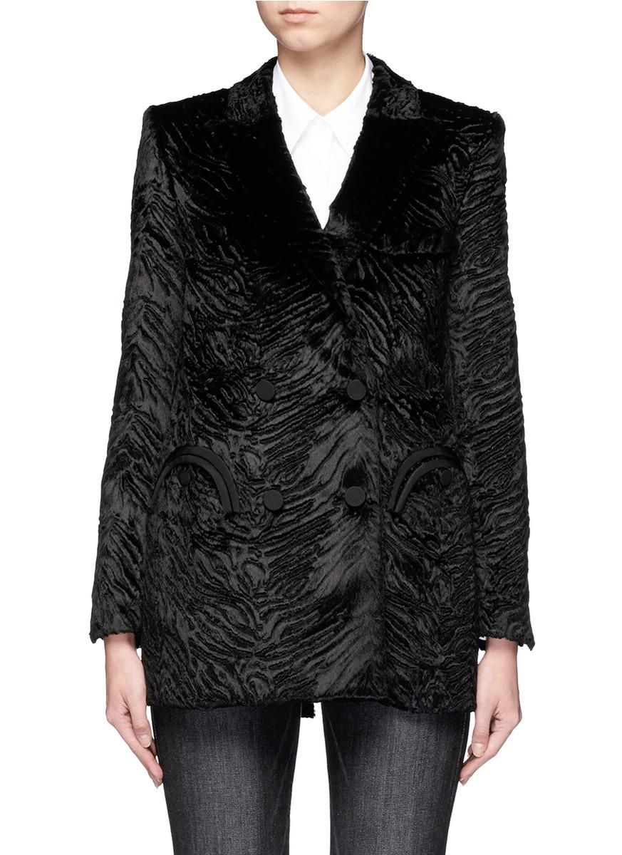 Everyday Unicorn faux fur blazer by Blazé Milano