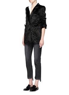 Blazé Milano'Everyday Unicorn' faux fur blazer