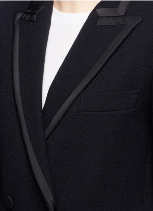 Detail View - Click To Enlarge - Blazé Milano - 'Everyday Resolute' wool crepe blazer