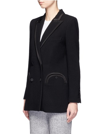 Front View - Click To Enlarge - Blazé Milano - 'Everyday Resolute' wool crepe blazer