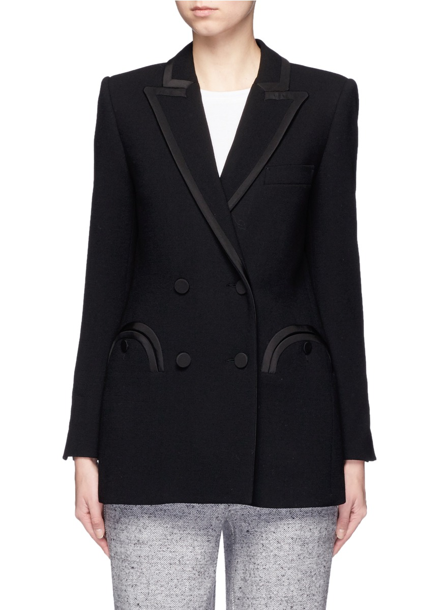Everyday Resolute wool crepe blazer by Blazé Milano