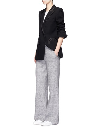 Figure View - Click To Enlarge - Blazé Milano - 'Everyday Resolute' wool crepe blazer