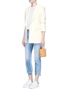 Blazé Milano'Resolute' wool crepe blazer