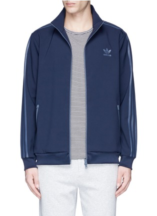 Main View - Click To Enlarge - Adidas - 'ADC Deluxe' triple stripe track jacket
