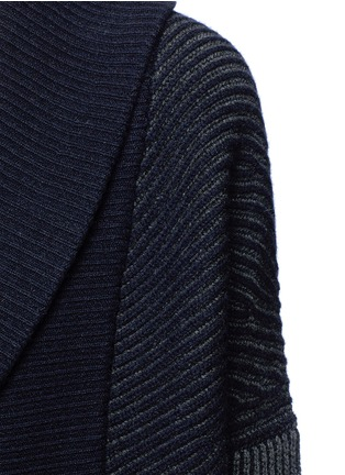 Detail View - Click To Enlarge - Vince - Wool-cashmere circle cardigan