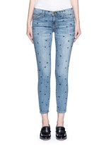 'The Stiletto' star print skinny jeans