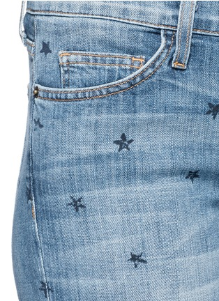 Detail View - Click To Enlarge - Current/Elliott - 'The Stiletto' star print skinny jeans