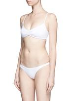 'Samba' ruched back hipster bikini bottoms