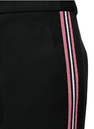 Detail View - Click To Enlarge - Ports 1961 - Tuxedo stripe virgin wool wide leg pants