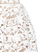 AZAELEA花卉蕾丝褶裥吊带连衣裙