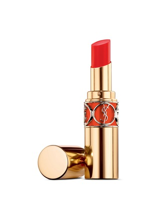Main View - Click To Enlarge - YSL Beauté - Rouge Volupté Shine Oil in Stick - 46 Orange Perfecto