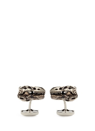 Main View - Click To Enlarge - Tateossian - T-rex skull cufflinks