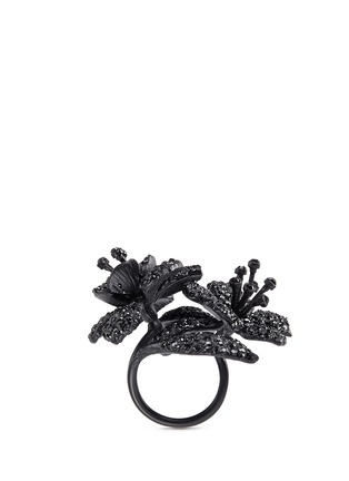 Figure View - Click To Enlarge - Valentino - Glam garden party ring