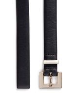 'Rockstud' leather slim belt