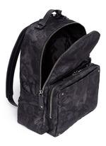 'Camubutterfly Noir' nylon backpack