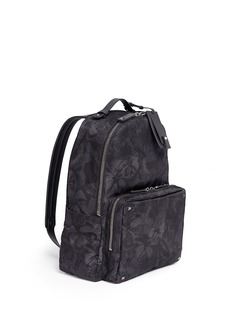 Valentino'Camubutterfly Noir' nylon backpack