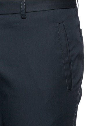 Lanvin-Cotton gabardine biker pants