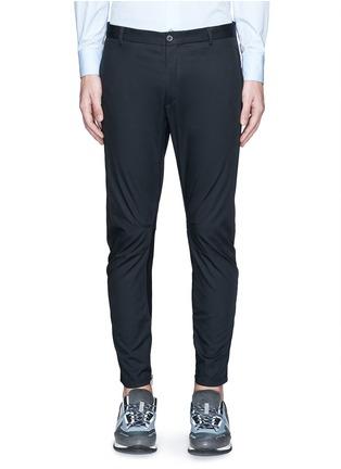 Main View - Click To Enlarge - Lanvin - Cotton gabardine biker pants
