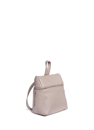 Detail View - Click To Enlarge - Kara - Small pebbled leather backpack