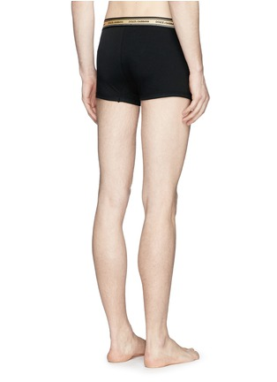 Back View - Click To Enlarge - Dolce & Gabbana - Logo waist boxer briefs